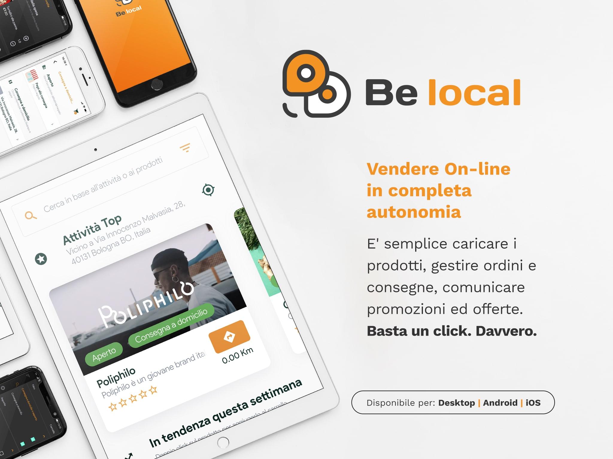 Be Local - Il marketplace delle attività locali